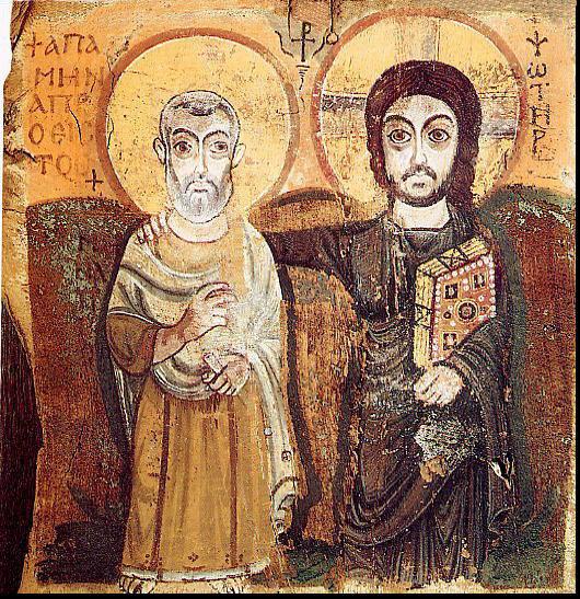 Christus und Abt Menas oriss2